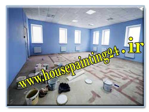 شش مرحله اساسی نقاشی ساختمان