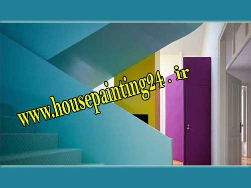 رنگ کاری ساختمان